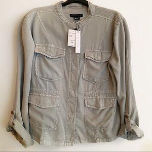 Sanctuary Light Green - Gray Jacket XL NWT